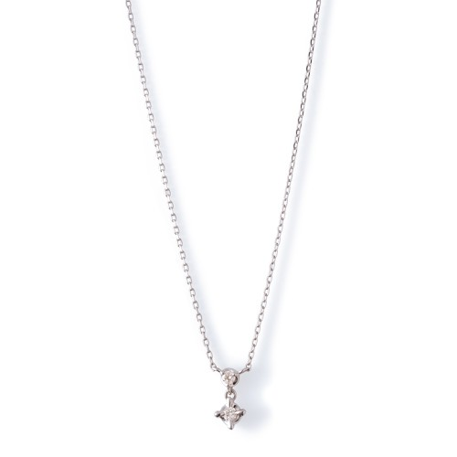 ホワイトゴールド ネックレス K-N18…