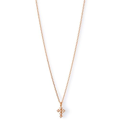 ピンクゴールド ネックレス K-N180…