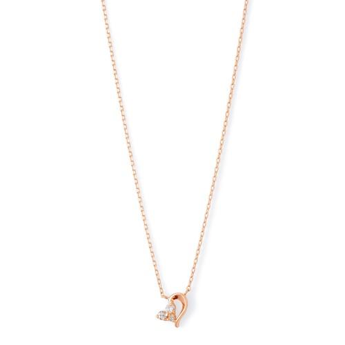 ピンクゴールド ネックレス K-N181…