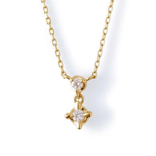 イエローゴールド ネックレス K-N18…