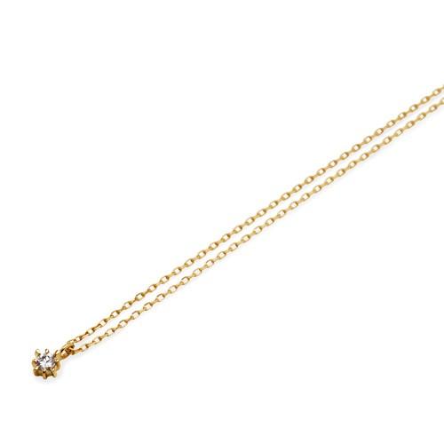 イエローゴールド ネックレス K-N22…