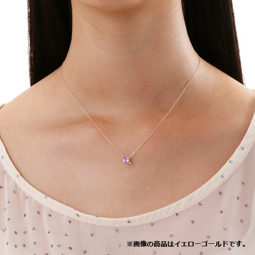ホワイトゴールド ネックレス K-N19…