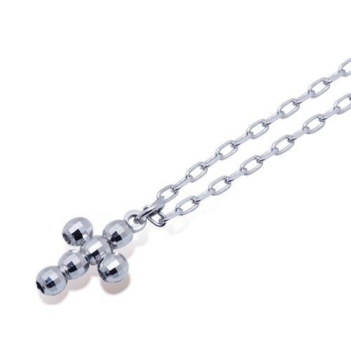 ホワイトゴールド ネックレス K-N23…