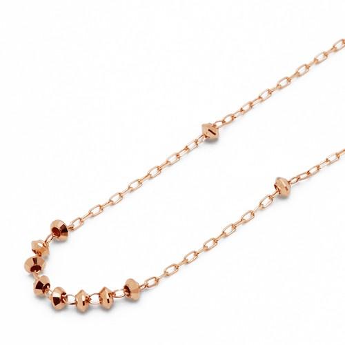 ピンクゴールド ネックレス K-N230…