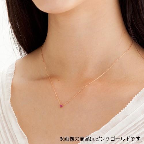 ホワイトゴールド ネックレス K-N27…