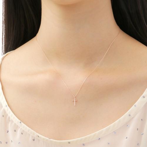 ピンクゴールド ネックレス K-N221…