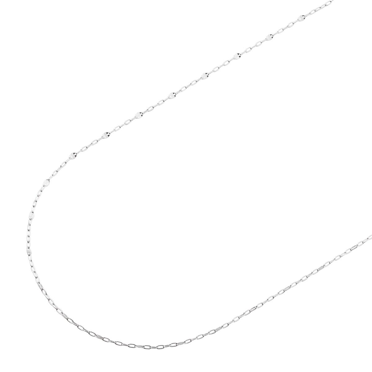 ホワイトゴールド チェーン K-CA22…