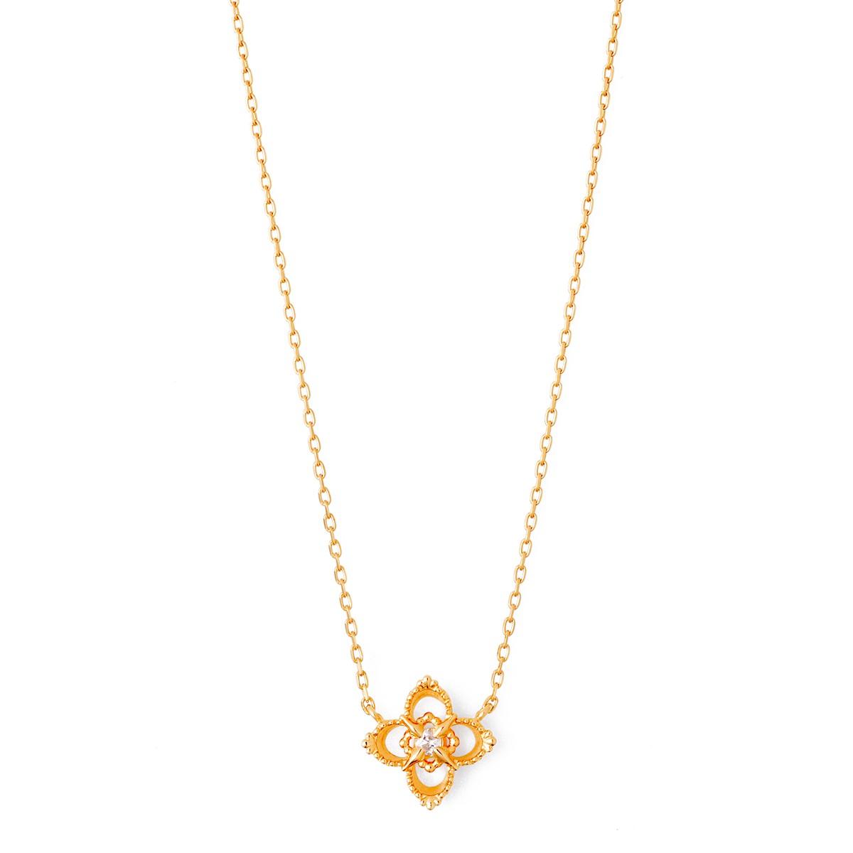 ゴールド ネックレス K-N1811YG