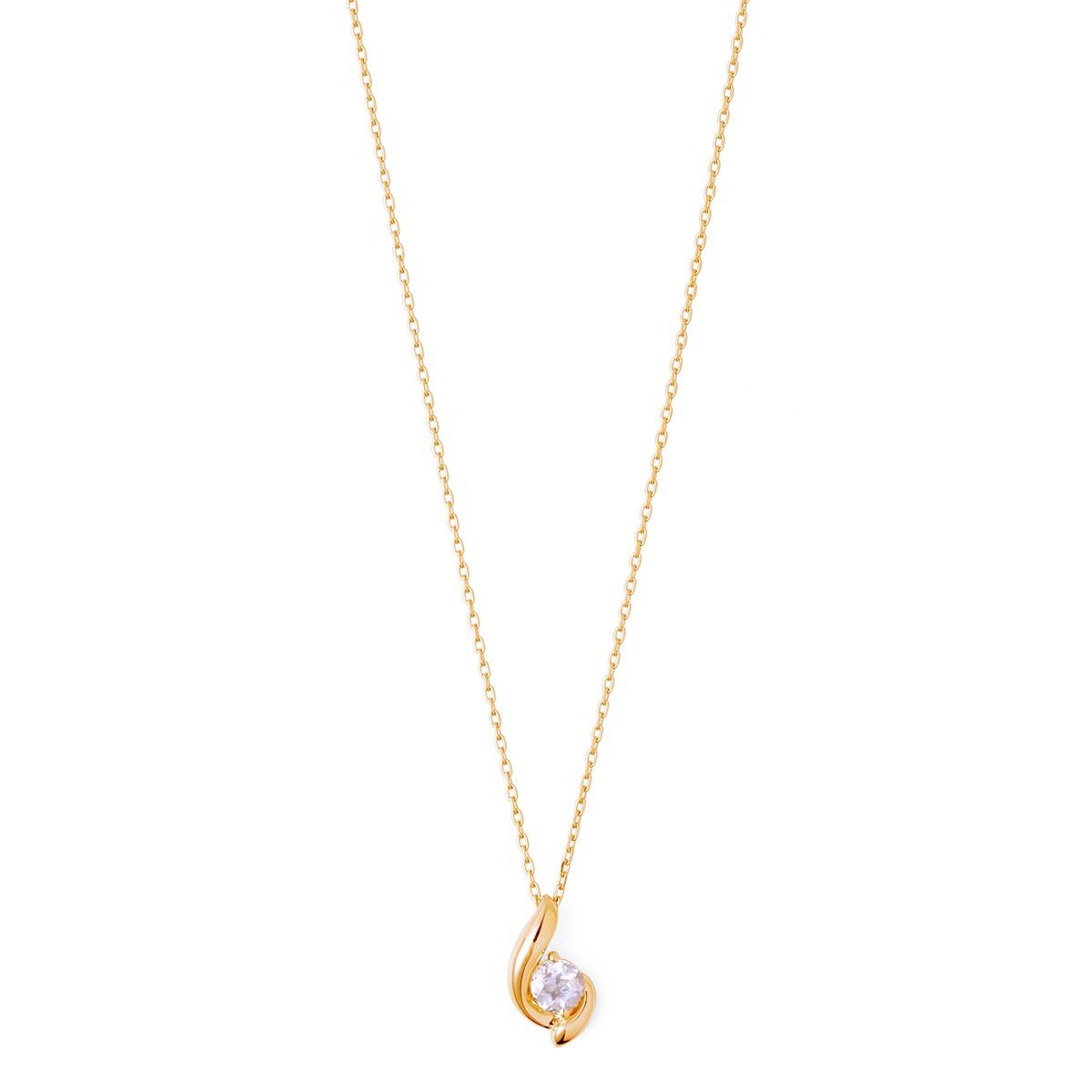 ゴールド ネックレス K-N1814YG
