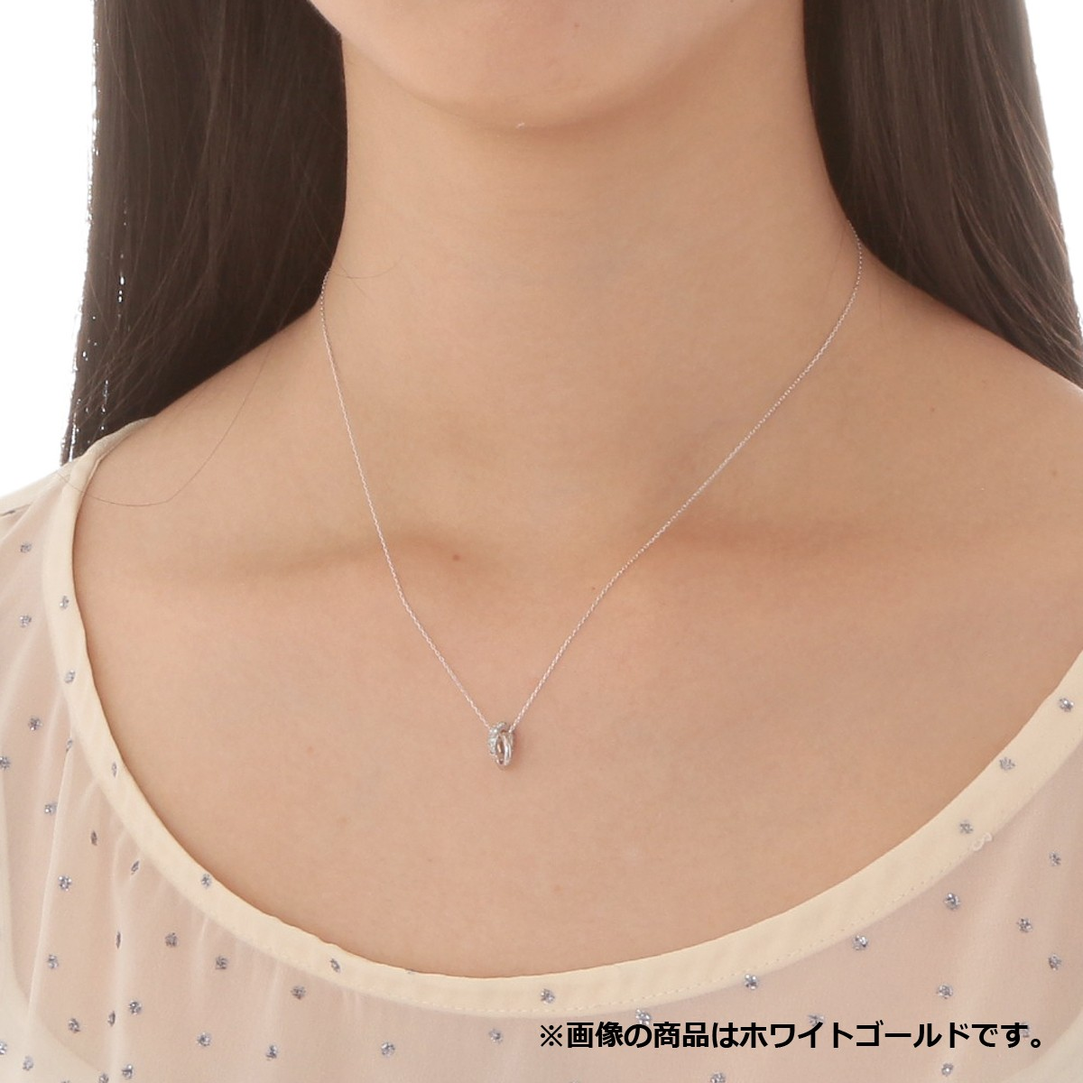 ゴールド ネックレス K-N2215WG…