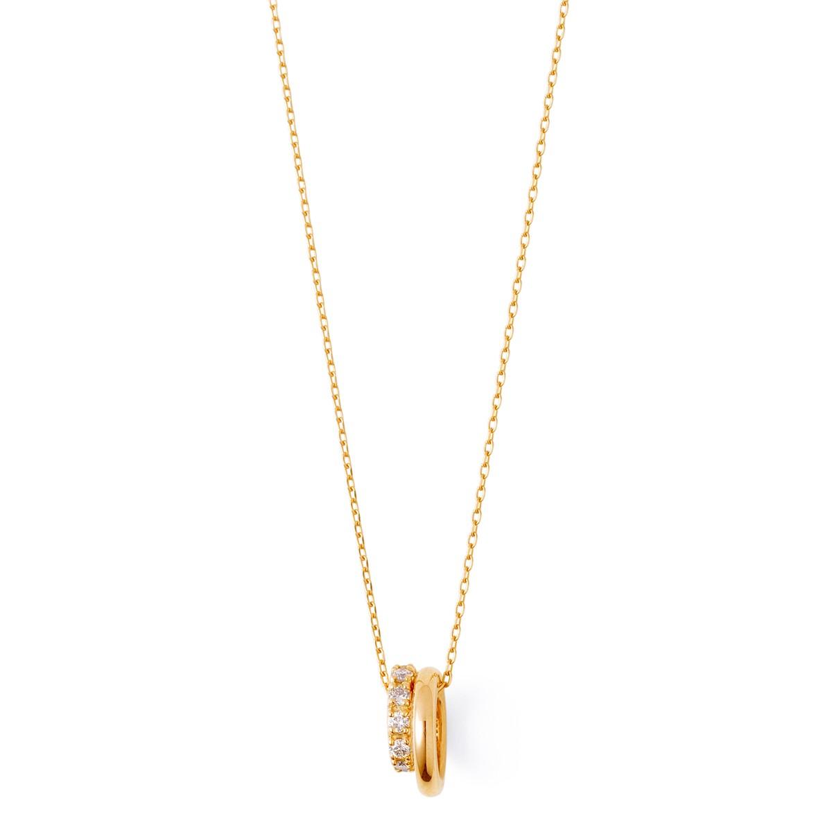 ゴールド ネックレス K-N2218YG