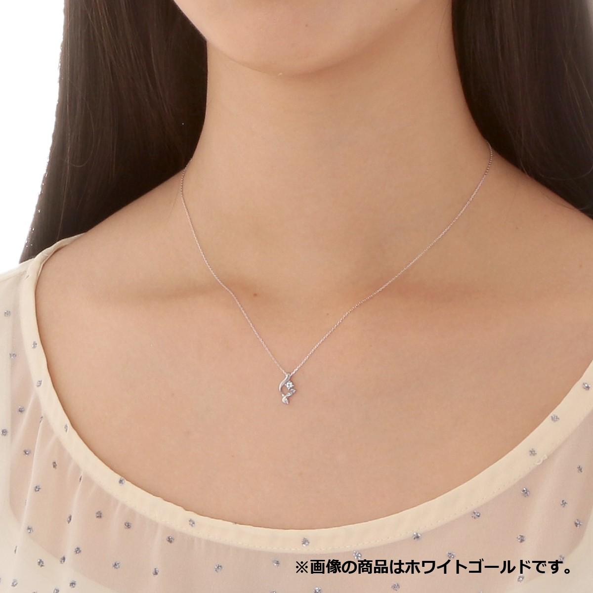 ゴールド ネックレス K-N2921WG
