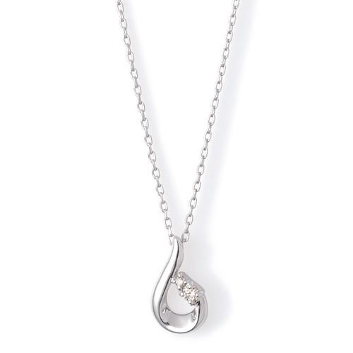 ホワイトゴールド ネックレス K-N1809WG