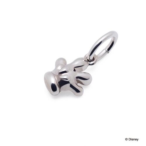 ディズニー ミッキーマウス / シルバー ネックレスチャーム DI-SCH702