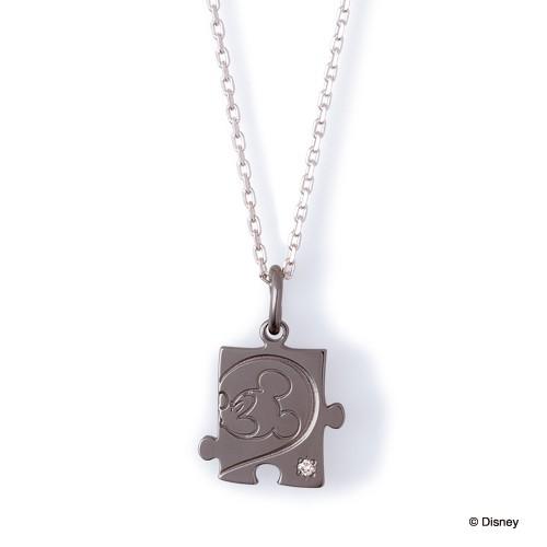 ディズニー ミッキーマウス / シルバー ネックレス DI-SN1804DM