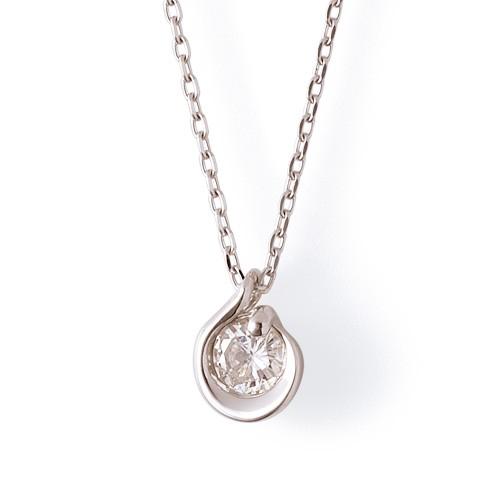 ホワイトゴールド ネックレス K-N1805WG