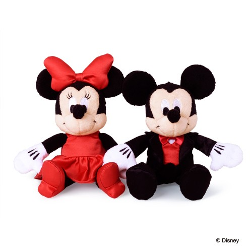 【同時購入特別価格】ディズニー ミッキー&ミニー / バッグチャーム 4200 DI-BC01-4200