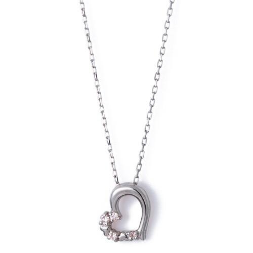 ホワイトゴールド ネックレス K-N1801WG