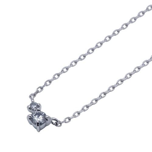 ホワイトゴールド ネックレス K-N1800WG