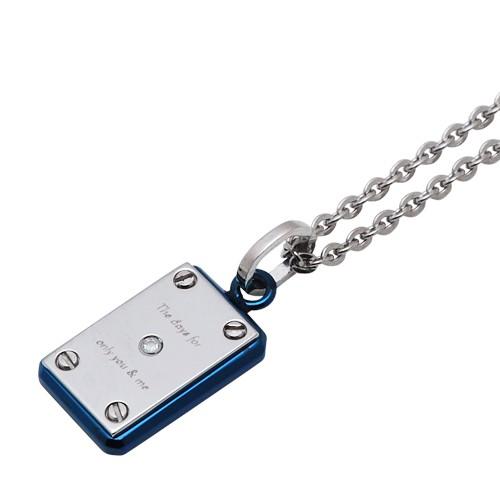 サージカルステンレス ネックレス TPD3047DM-50
