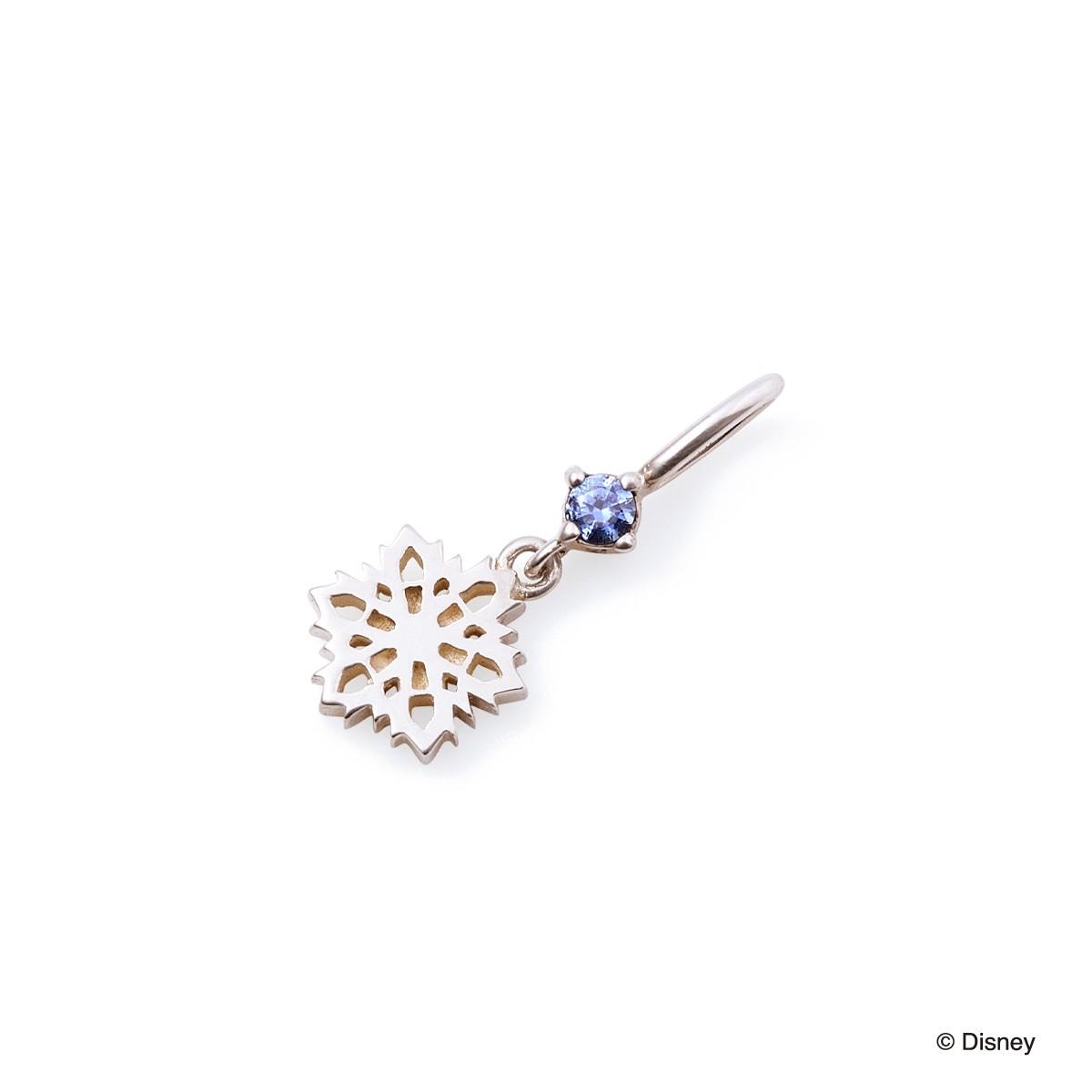 ディズニー アナと雪の女王 / シルバー ネックレスチャーム DI-SCH707CB