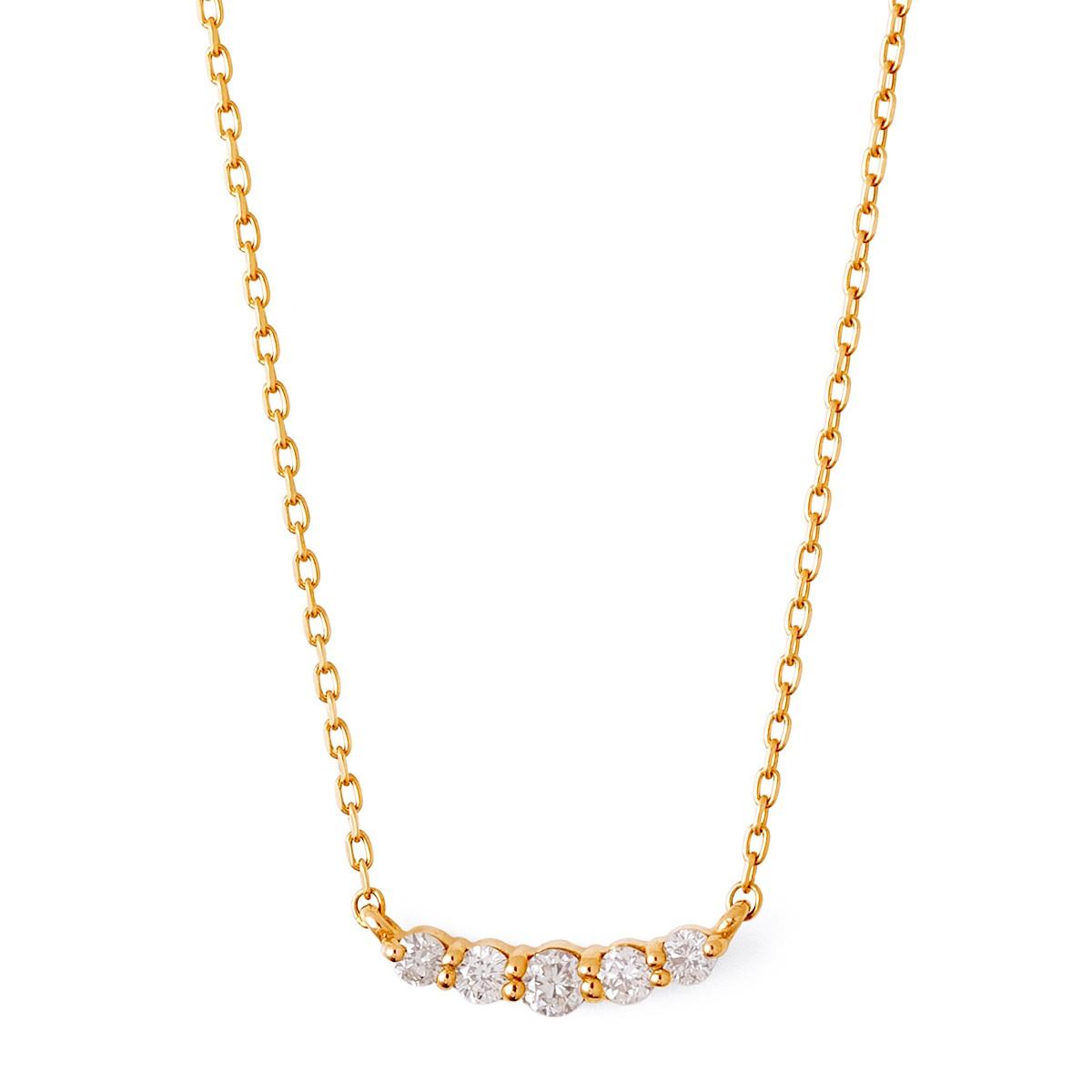 ゴールド ネックレス K-N2219YG