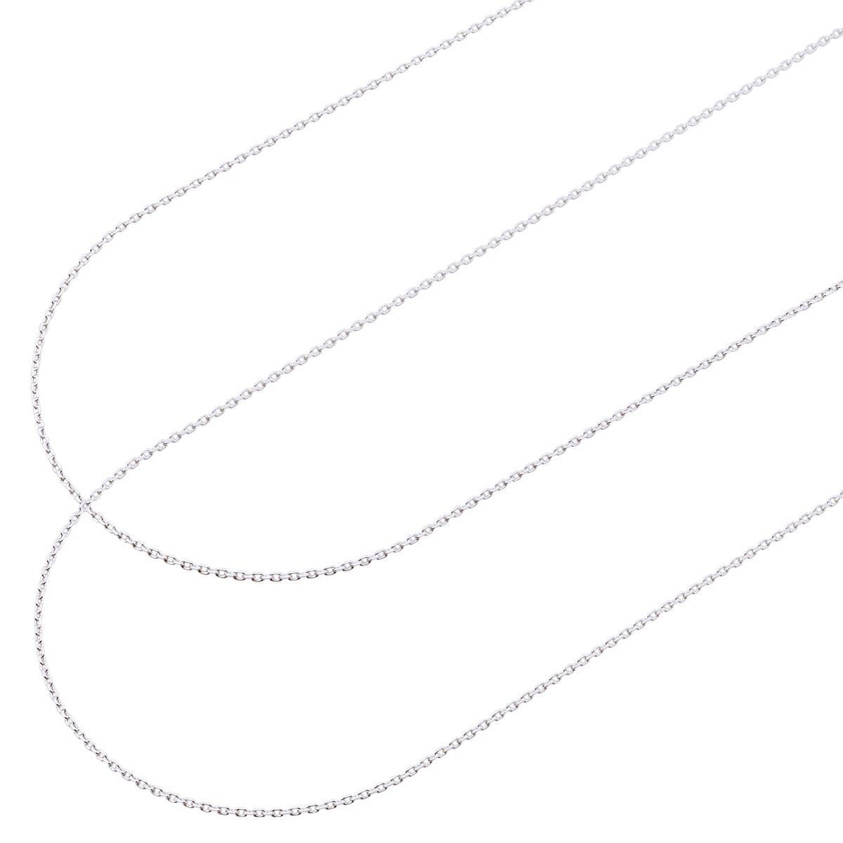 プレミアムシルバー950 ペア チェーン PCA35-P