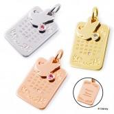 ディズニー ミニーマウス / ゴールド ペンダントトップ DI-BAN0800-GD