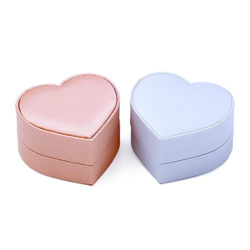 ピンク&ブルーハート ジュエリーボックス