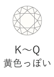 K~Q 黄色っぽい