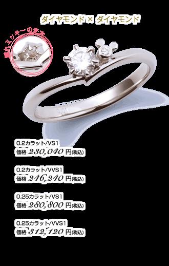 ダイヤモンド×ダイヤモンド
