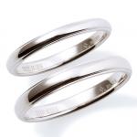 【Precious Silver】 シンプル シルバー ペアリング