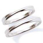 【Precious Silver】 crossing ユニセックス シルバー ペアリング